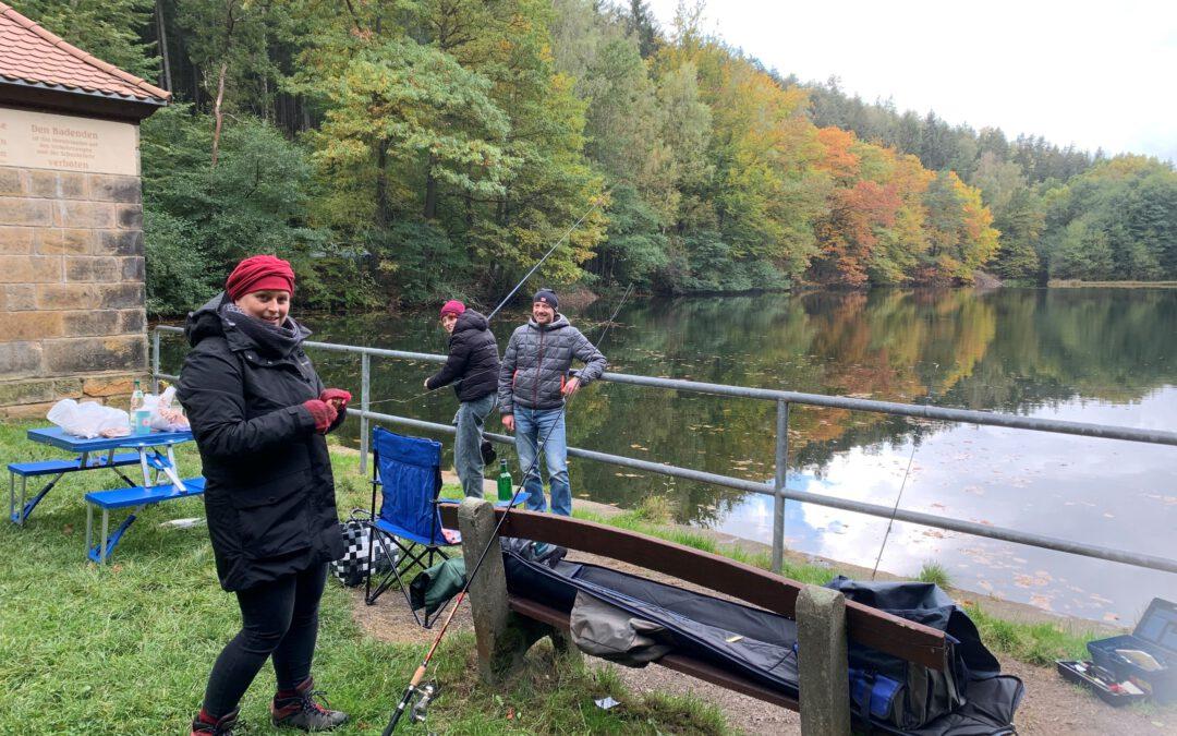 Familienfischen im Tharandter Wald 2021